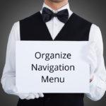 Organize Navigation Menu